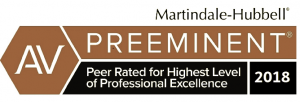Martindale-Hubbel Preeminent badge